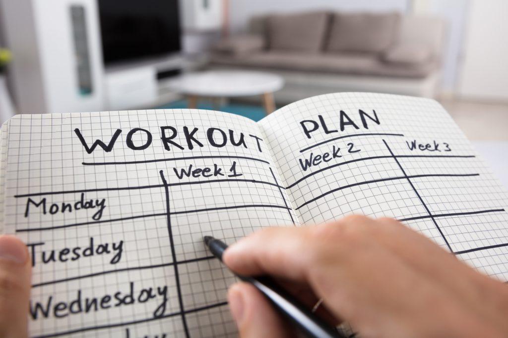make an exercise plan full