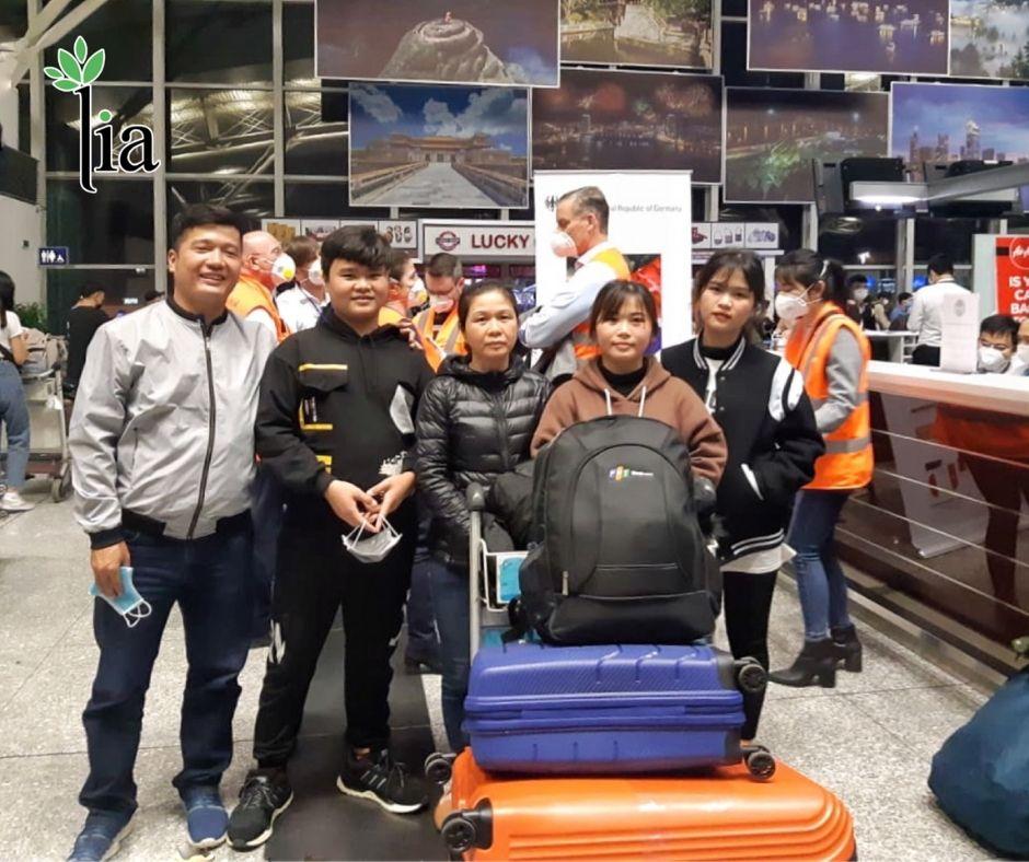 Người Việt duy nhất trên chuyến bay hồi hương Đức