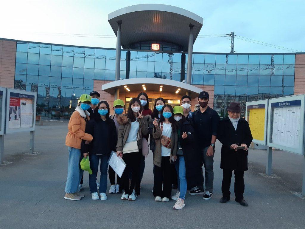 VICAT đón học viên bay từ Việt Nam đến Rostock, Đức