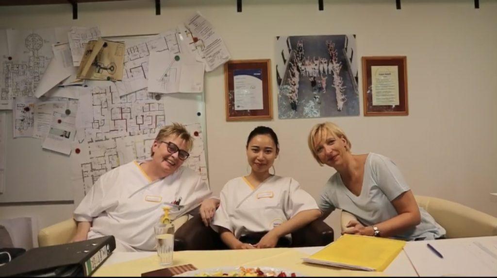 Học viên LIA và đối tác từ Oyten
