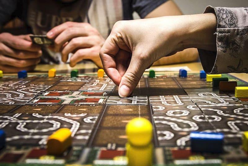 boardgame LIA 5 trải nghiệm ở Hamburg
