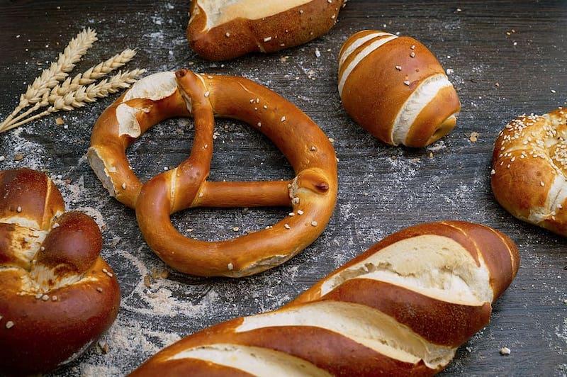 Kham pha am thuc duc Germany Bread