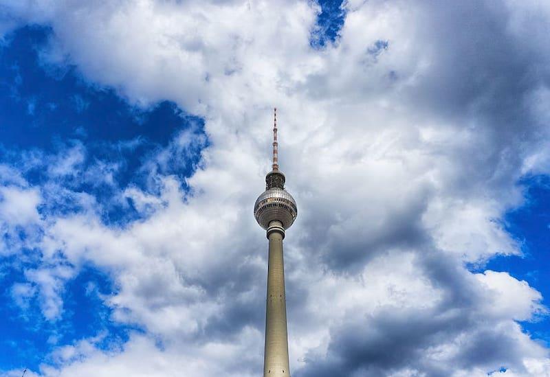 Tháp truyền hình tại Berlin, Đức là địa điểm tham quan bạn nên ghé qua!